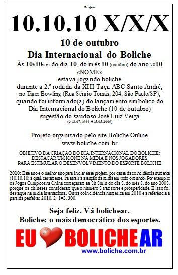 Dia Internacional do Boliche