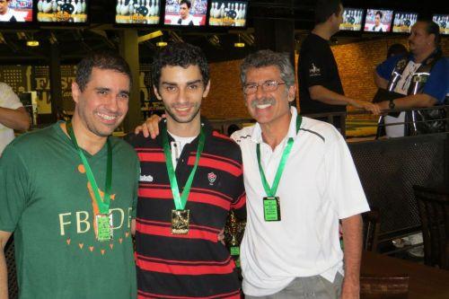 All Events 1.ª Divisão: Fábio Grossi (2.º), Renan Zoghaib (1.º) e Márcio Vieira (3.º)