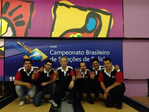 Feliph Rosa, Renan Zoghaib, Franz Monteiro, Celso Azevedo, Marcelo Malheiro e Igor Pizzoli