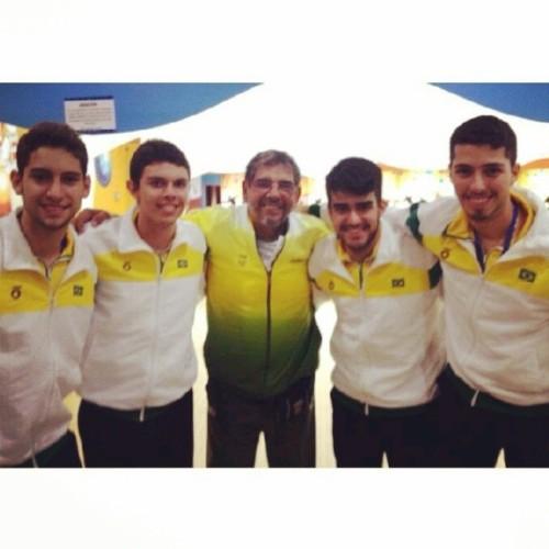 Bernardo, Thiago, Benê Villa, João e Bruno