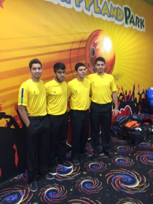 Bernardo, João, Thiago e Bruno