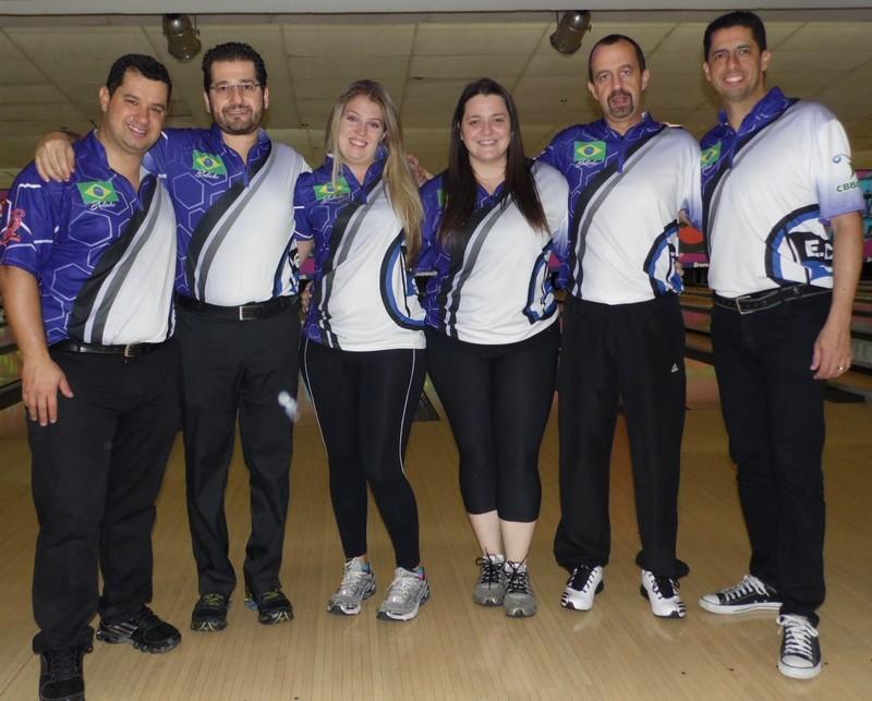 Igor, Eduardo, Stephanie, Roberta, Celso e Felipe