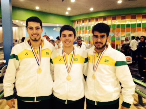 Bruno, Thiago e João