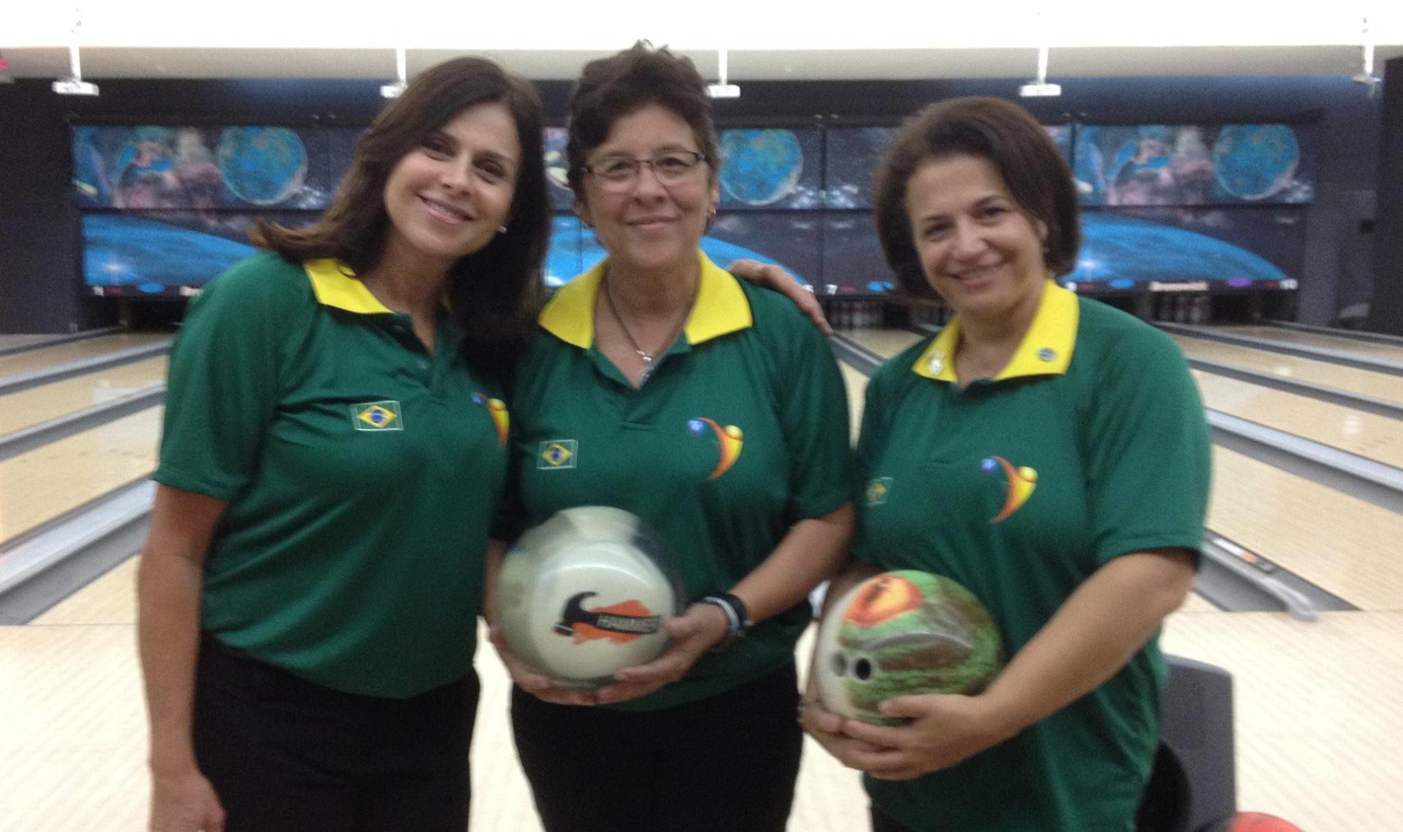 Léa Castro, Dayse Silva, Rosina de Freitas