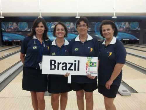 Léa Castro, Lúcia Vieira, Dayse Silva, Rosina de Freitas