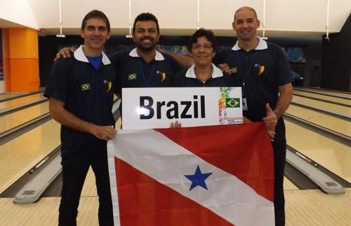Equipe Paraense: Germano Leão, Maurício Schuster, Dayse Silva e Zeca Miranda