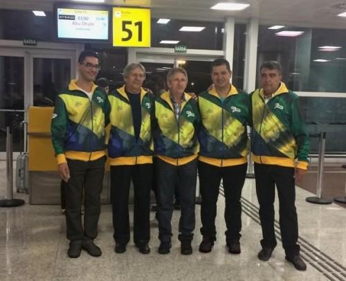 Nilson, Peninha, Oscar, Igor, Rogério